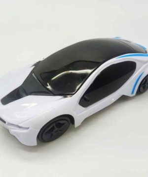 BMW Musical Beautiful Car Rotate 360° with Flashing Light , Music & Cells For Kids ( Boys And Girls )